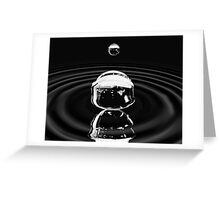 A drop that forms the ocean. Greeting Card