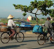 Morning rush hour - Hoi Anh by rachelkohaly1