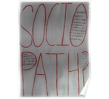 Sociopath? Poster