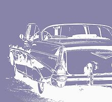 Chevy BelAir by Edward Fielding