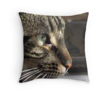 PeeWee deep in thought Throw Pillow