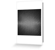 dotted metal background Greeting Card