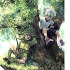Hunter X Hunter - Gon and Killua by shumijin