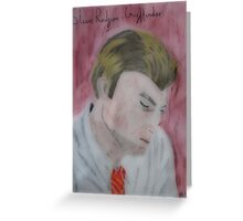 Steve Rodgers- Gryffindor Greeting Card
