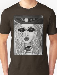 Steam hippy black and white T-Shirt