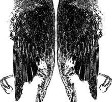 Dead Birds Tee by Edward Fielding