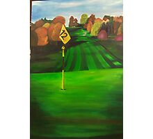 12th hole Photographic Print