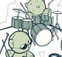 Teddy Band Sticker