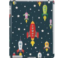 cartoon spaceships launch iPad Case/Skin
