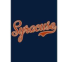 Syracuse Orange Photographic Print