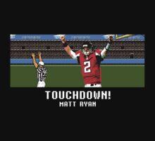 Tecmo Bowl Touchdown Matt Ryan by av8id