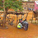 Street workshop near Mombasa, KENYA by Atanas NASKO