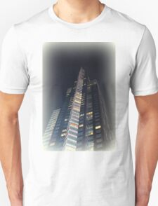 skyscrapers in the night Unisex T-Shirt