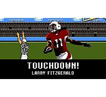 Tecmo Bowl Touchdown Larry Fitzgerald Photographic Print