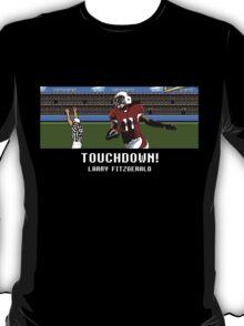 Tecmo Bowl Touchdown Larry Fitzgerald T-Shirt