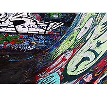 Textured Graffiti Photographic Print
