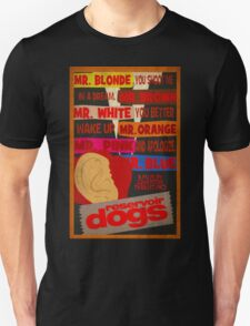 Reservoir Dogs - Wake Up and Apologize Unisex T-Shirt