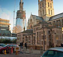 Half-Way-There: The Shard, Lambeth, London. by DonDavisUK
