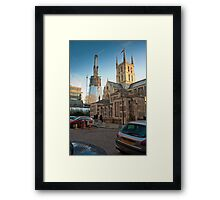 Half-Way-There: The Shard, Lambeth, London. Framed Print