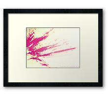 RAPTURE ROSE Framed Print