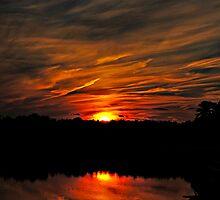 Fiery Night III by Paul Gitto