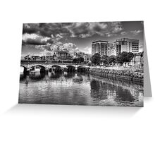 The River Clyde in Glasgow Greeting Card