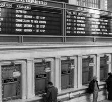Grand Central Terminal Ticket Windows Sticker