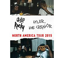 A$AP ROCKY TOUR 2015 Photographic Print