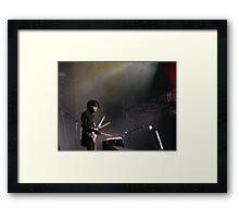 Chris Corner - IAMX - Live at Stare Misto festival - 2010 Framed Print