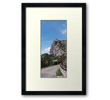 Chateau de Roquifixade Framed Print