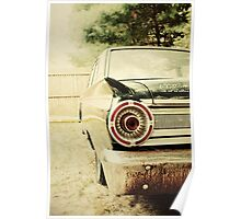 Classic Ford Fairlane Poster