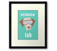Science Lab Framed Print
