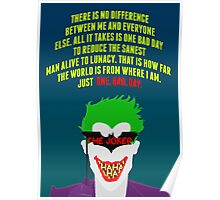 The Joker - Batman: The Killing Joke Poster