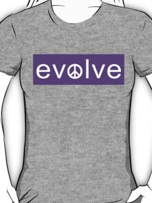 Evolve: Coexist in Peace (purple version) T-Shirt