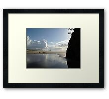Ecola Creek, Oregon Framed Print