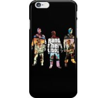 Grand Theft Auto 5, 3 Silhouettes iPhone Case/Skin