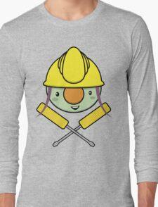 Jolly Doozer - Skull & Crossbones style Long Sleeve T-Shirt