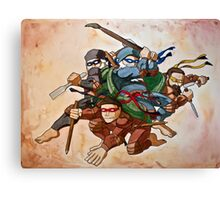 Dead Genius Ninja Artists Canvas Print