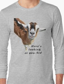 Here's looking at you kid Long Sleeve T-Shirt