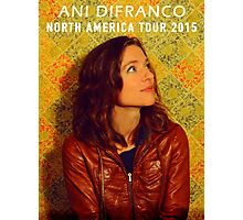 ANI DIFRANCO TOUR 2015 Photographic Print