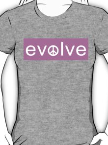 Evolve: Coexist in Peace (pink version) T-Shirt