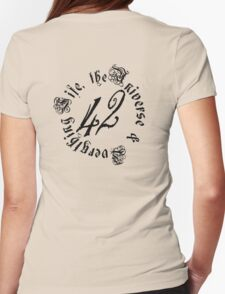 Life, the Universe and Everything, version 2.0 Womens Fitted T-Shirt