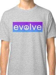 Evolve: Coexist in Peace (purple fade version) Classic T-Shirt