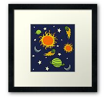 The Magic School Bus Gets Lost In Space Framed Print