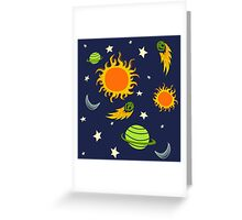 The Magic School Bus Gets Lost In Space Greeting Card