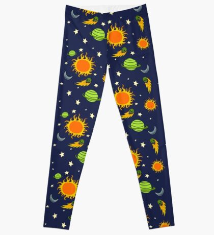 The Magic School Bus Gets Lost In Space Leggings