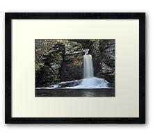 Deer Leap Falls Framed Print