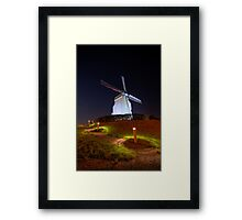 Windmill in Belgium Framed Print
