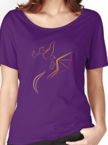 The purple Dragon Women's Relaxed Fit T-Shirt