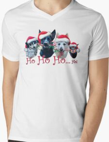 Ho Ho Ho Mens V-Neck T-Shirt